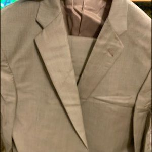 Burberry men's suite pants and jacket